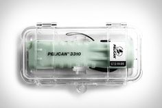 Pelican's ELS series, short for Emergency Lighting System, is perhaps best utilized in the flashlight. Solving the most common problem during a power outage. Nam June Paik, Pelican Case, Transparent Design, Emergency Lighting, Lighting System, Graphic Design Posters, Creative Industries, Flashlight, Industrial Design