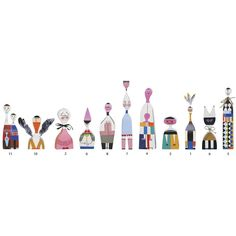 Wooden Dolls by Vitra - Dwell