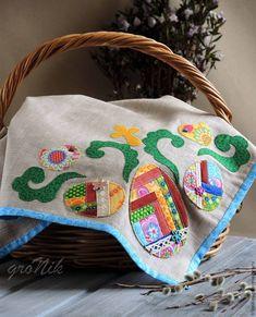 Шьем льняную салфетку «Пасхальная геометрия» - Ярмарка Мастеров - ручная работа, handmade