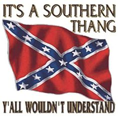With this whole blown out of proportion flag thing I have done some studying far beyond the pablum I was taught in school or even what I learned in all my trips to Gettysburg PA. I am a southern sympathizer now. The south was not fighting so much to keep the slaves as it was to keep the big government from infringing on their rights. Lincoln was not the man I idolized and did things I am not happy about. It was like Obama's regime only with Abe and no muslims.