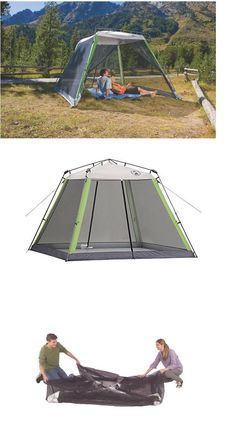 Canopies and Shelters 179011 Coleman 10 X 10 Instant Screened Canopy -u003e BUY IT NOW ONLY $76.17 on eBay! | Canopies and Shelters 179011 | Pinterest ...  sc 1 st  Pinterest & Canopies and Shelters 179011: Coleman 10 X 10 Instant Screened ...