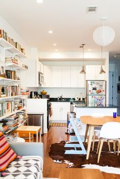Joanna Goddard's Streamlined Brooklyn Kitchen