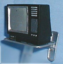 Doll miniature handcrafted Medical tv hospital wall 1/12 scale