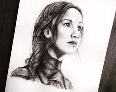 Willow on hunger games fan art Hunger Games Pin, Hunger Games Series, Hunger Games Catching Fire, Supernatural Destiel, Katniss Everdeen, Best Fan, Mockingjay, Disney Fan Art, Art Girl