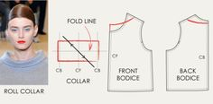 High Rounded Necklines and Collar Variations - The Cutting Class