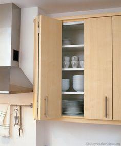 Pictures of Kitchens - Modern - Light Wood Kitchen Cabinets (Kitchen Kitchen Cabinets Hinges, Large Storage Cabinets, Outdoor Kitchen Cabinets, Kitchen Units, Kitchen Ideas, Kitchen Layout, Kitchen Backsplash, Kitchen Design, Cabinet Under Stairs