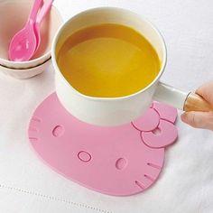 Hello Kitty Silicon Pot Stand Trivet Kitchen Mitten Cooking Tool SANRIO Japan
