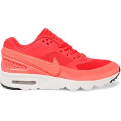 first rate 8e409 9b8c3 Nike - Air Max Bw Ultra Mesh And Leather Sneakers (265 BRL) ❤ liked