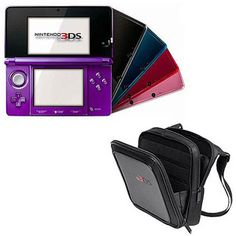 Nintendo 3DS w/ Bonus Case and Choice of Accessory Value Bundle
