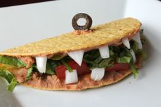 Tacodiles. YES.   http://www.skinnymomskitchen.com/2013/07/19/cloudy-with-a-chance-of-meatballs-2-tacodile-recipe-foodimals-foodimal/ http://thetaco...