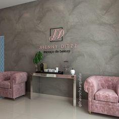 Home Nail Salon, Nail Salon Design, Nail Salon Decor, Hair Salon Interior, Spa Interior, Beauty Salon Decor, Salon Interior Design, Makeup Studio Decor, Spa Studio