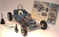 1-8-1924-BIG-DRAG-T-BUCKET-Built-MONOGRAM-plastic-model-kit-INCREDIBLY-RARE-52