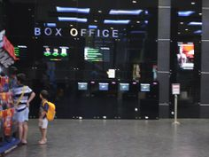 The soon to be implemented box office kiosk area, where one may purchase their movie and concession tickets. Premium-X Cinemas in One City, USJ!