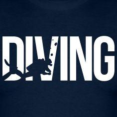 diving scuba T-Shirts