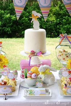 Spring easter party via Kara's Party Ideas