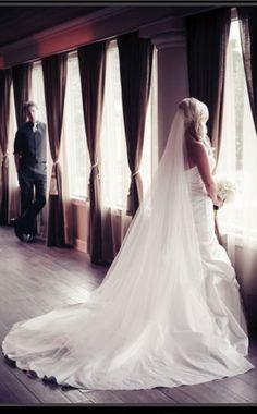 Long Veil love ❤#Wedding