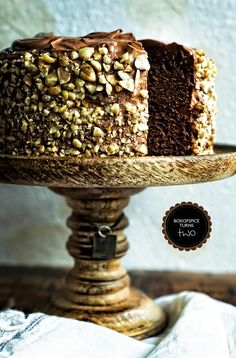Chocolate Kahlua Hazelnut Cake