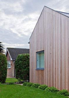 Extension to a two bedroom bungalow  in Cambridge by Mole Architects.