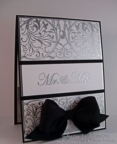 CAS Wedding Card by notimetostamp - Cards and Paper Crafts at Splitcoaststampers