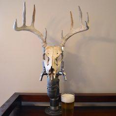 Antler Beer Tap by CabinFeverCraft