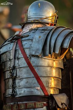 Roman armor...especially good to see how the pieces fit together on the backside.
