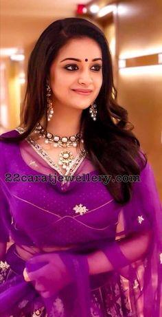 Keerthi Suresh in Meena Work Choker Beautiful Girl Photo, Beautiful Girl Indian, Most Beautiful Indian Actress, Beauty Full Girl, Beauty Women, Beautiful Celebrities, Beautiful Actresses, Beautiful People, Beautiful Bollywood Actress
