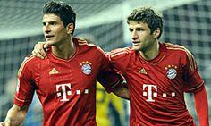 Super Mario Gomez und Thomas Müller. I ♥ FC Bayern Munchen