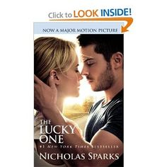 Book and Movie Review: The Lucky One by Nicholas Sparks - avoid the audiobook, movie screwed up the ending. Another Book/Movie joint review from Bookwi.se Contributor Emily Flury