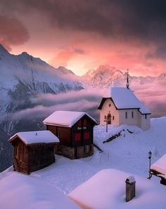 Winter in Switzerland Winter Magic, Winter Snow, Winter Time, Winter Sunset, Snow Photography, Landscape Photography, Beautiful World, Beautiful Places, Norway Winter