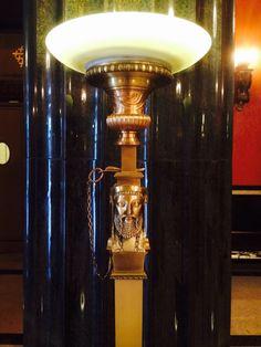 Lobby lamp House of the Temple Washington DC