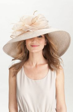Badgley Mischka 'Extra Wide Brim' Metallic Derby Hat.  Nordstroms ship to Australia great.   Now just loose some weight and that's me