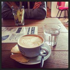 De derde (koffie-)ronde... koffie en thee met @jochemspoor... ;-) #myview #blijei...