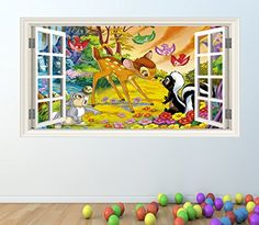 bambi wall sticker http://wallartkids.com/frozen-wall-stickers