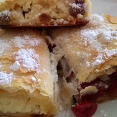 Hungarian Recipes, Strudel, Winter Food, Tray Bakes, Fudge, French Toast, Healthy Living, Food And Drink, Pie