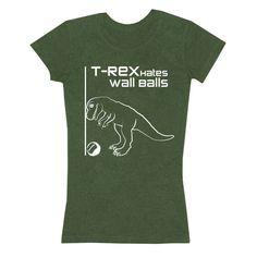 T-Rex Hates Wall Balls