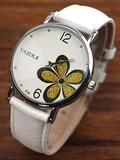 Leather Analog Quartz Vogue Wrist Watch