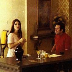 {*Priscilla Presley & Joe Esposito*}