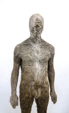 Markus Leitsch,Suit 2, cowhide, resin