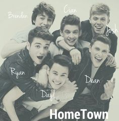 HomeTown!!❤ Ryan McLoughlin| Brendan Murray |Cian Morrin |Dayl Cronin |Josh Gray | Dean Gibbons My favs Pin!!