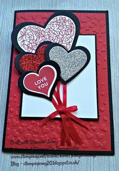 Stampin' Jenny - Valentine Cards