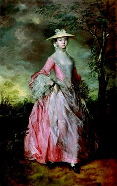 Thomas Gainsborough: Mary, Countess of Howe, c.1764.