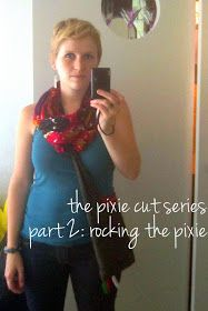 This is Part 2 of my Pixie Cut Series. For anyone out there who could care less about short, cute haircuts... tune back in later :)        B...