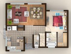 esta es la planta de mi piso!