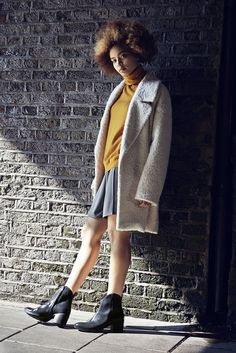 November-issue shoot of ELLE's edit of Clark's great a/w 2014 collection. Loving the location, loving the shoes. #promo