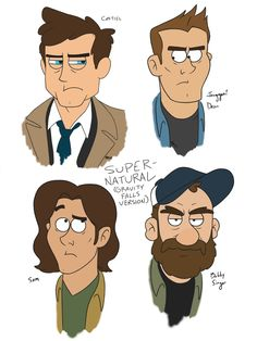 Supernatural (Gravity Falls Edition!) by xiam47.deviantart.com on @DeviantArt>> YESYESYESS If this cartoonn doesn't do a cameo I will be so dissapointed