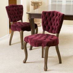 Best Selling Home Yates Tufted Parsons Dining Chair - Set of 2 - Make your table more romantic with the sensual boudoir styling of the Best Selling Home Yates Tufted Parsons Dining Chair - Set of 2 . These chairs flaunt...