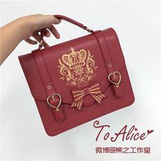Tomy Bear -Stephanie College- Lolita Bag