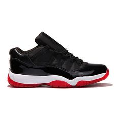 03e170eed57 AIR JORDAN XI LOW (BRED) Sneaker Freaker ❤ liked on Polyvore featuring  jordans and