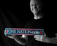 One Nation... by TheKnightGallerie on Etsy