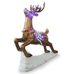 National Tree Co. Reindeer Christmas Decoration